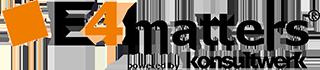 Logo von E4matters